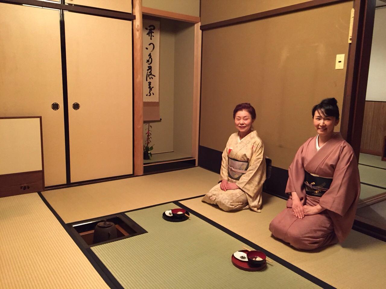 京都教室 炉開き